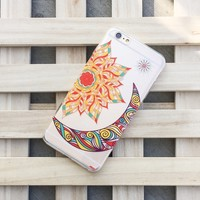 Henna The Gypsy (Sun and Moon) - Clear TPU Case Cover