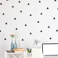I liked this design on #Fab. Triangle Decals 3 Pack Black