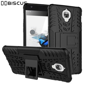 For OnePlus One Plus 6 5 3 5 T 5T 3T Case Heavy Duty Armor Rubber Hybrid Hard Plastic Cover For OnePlus3T OnePlus6 Phone Stand