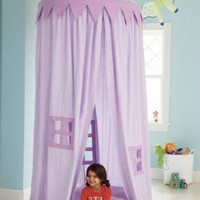 Kids' Playroom Furnishings: Kids Purple Soft Sided Canopy Playhouse