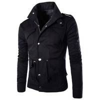 Men's Fashion Elegant Coat Sexy Slim Fit Casual Jacket