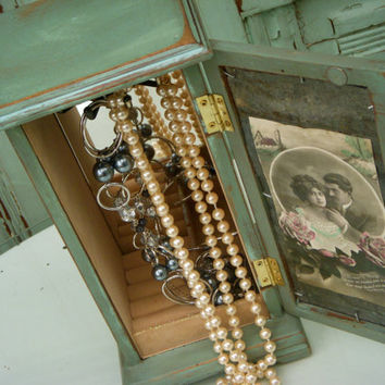 Jewelry Box Shabby Vintage Paris Romance by honeystreasures