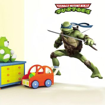 Teenage Mutant Ninja Turtles memories of childhood wall decal ZooYoo031 decorative adesivo de parede removable pvc wall stick