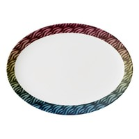 Flames 8 porcelain serving platter