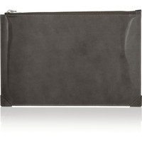 Alexander Wang Prisma patent-leather pouch – 50% at THE OUTNET.COM
