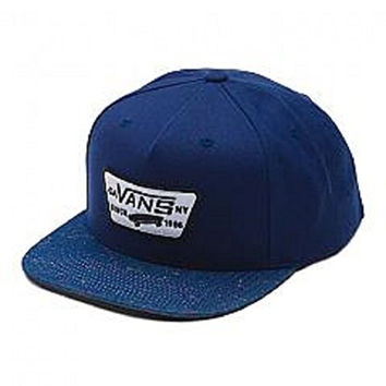 Vans Full Patch Snapback Hat (Dress Blues/Chambray)