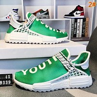 Adidas Human Race Nmd Fashion New Colorful Color Sports Leisure Running Women Men Shoes