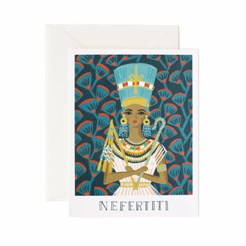 Nefertiti Greeting Card by RIFLE PAPER Co. | Made in USA