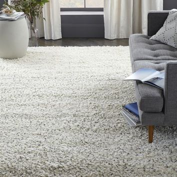 Steven Alan Speckled Shag Wool Rug