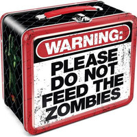 Don't Feed the Zombies Lunch Box