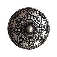 Moroccan Belt Buckle - Antique Silver
