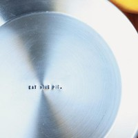 Eat More Pie Stamped Metal Pie Pan