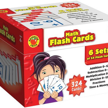 Brighter Child Math Flash Cards