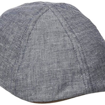 San Diego Hat Co. Men's Chambray Driver Hat, Chambray, One Size