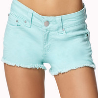 Frayed Denim Cut Offs