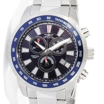 Invicta 1556 Men's Sports Dive Blue Dial Stainless Steel Watch