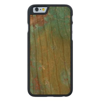 Hot Cool Luxury Turquoise Jewellered Carved® Cherry iPhone 6 Slim Case