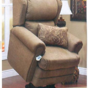 MedLift Power Lift Chair Recliner, Wall Hugger with Pillow 5400
