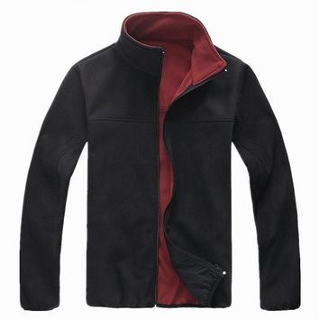 Women&Men Winter Hiking Fleece Jackets Softshell skiing Coat Anti-Static Fleece Outdoor Jackets Breathable Camping Jacket Men