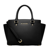 Medium Selma Top-Zip Satchel - MICHAEL Michael Kors