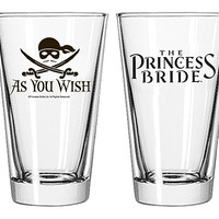 Princess Bride As you Wish Pint Glass