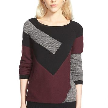 Trouvé Abstract Pattern Sweater | Nordstrom