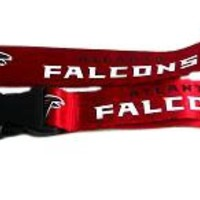 ATLANTA FALCONS OFFICIAL LOGO LANYARD KEYCHAIN