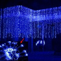 led string light 3M X 1.5M 144led AC220V/110V holiday led lighting waterproof outdoor decoration light christmas light