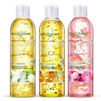 BIOAOUA Flower Petals Essencial Shower Gel Fragrant Whitening Bath Lotion Body Skin Care Moisturizing Deep Cleaning 250ml