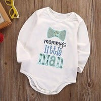 Cute Newborn Infant Baby Boy Girl Bodysuit Jumpsuit Clothes Outfits