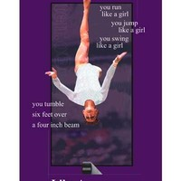 """Beam Edition """"Like A Girl"""" Poster"""