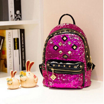 Casual Hot Deal Comfort On Sale Back To School College Hot Sale Stylish Rivet Backpack [6581910791]