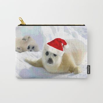 Save Me | Christmas Spirit Carry-All Pouch by Azima