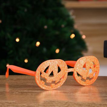 Funny Halloween Costumes Pumpkin Lantern Glasses Novelty Frame Party And Ball Cosplay Props Decoration Without Lenses