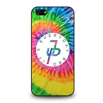 JAKE PAUL EVERYDAY BRO RAINBOW iPhone 5 / 5S / SE Case Cover