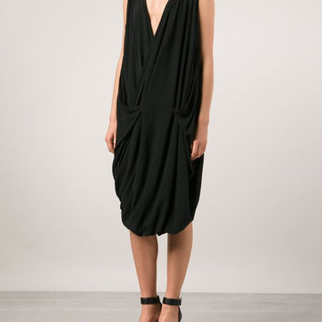 TVSCIA | Front Draped Jersey Dress