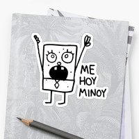 'Spongebob: Doodlebob' Sticker by lasercatz