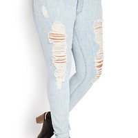 Forever Cool Distressed Skinny Jeans