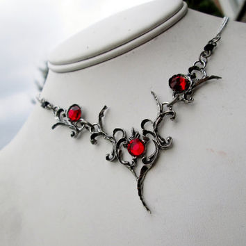 gothic necklace choker, The Corsis