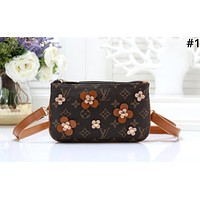 LV Tide brand female flower chain bag shoulder bag Messenger bag #1