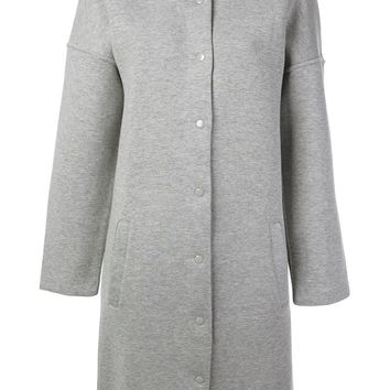 T By Alexander Wang round neck coat