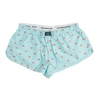 Chandler Oxford Lounge Short in Antigua Blue by Southern Marsh - FINAL SALE