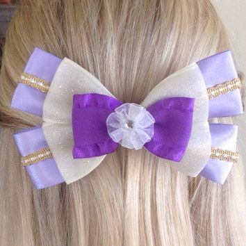 Megara Hercules Damsel in Distress Bow, Won't Say I'm in Love by Design Bowtique