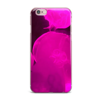 "Juan Paolo ""Pink Jellyfish"" Pink Magenta iPhone Case"