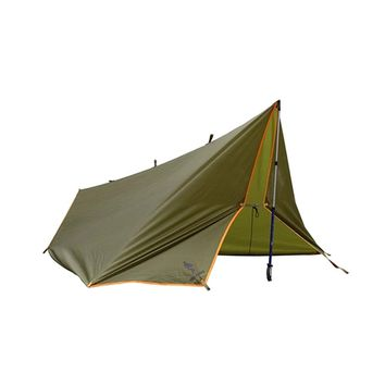Outdoor Camping Traveling Survivor Awning Multi-function Mat Folding PU Waterproof Portable Tent Shade Rain Shed Sun Shelter