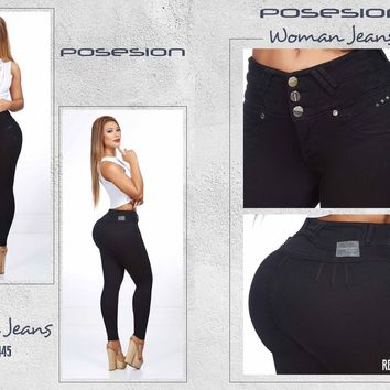 100%  Authentic Colombian  Push Up Jeans  8445  by Posesion (R)