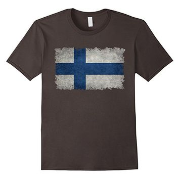 Vintage Finnish Flag T-Shirt