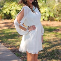 Flower Child Dress, Ivory