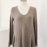 SANDRA SWING TOP- MOCHA