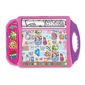 Shopkins Doodle Desk Travel Art Kit - Kids